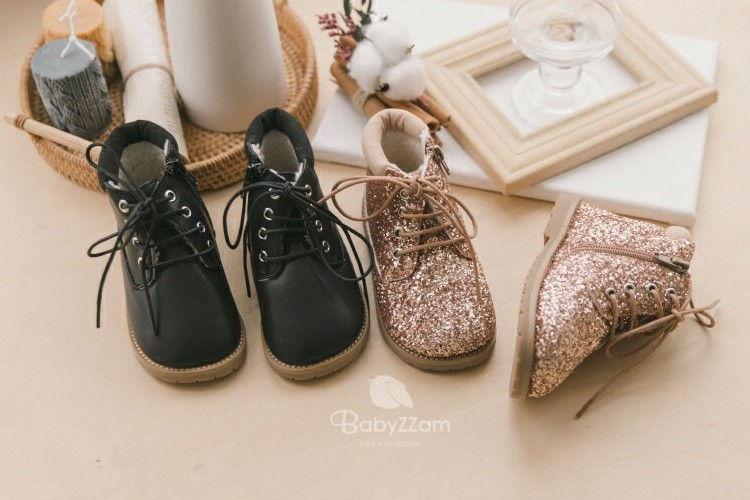BABYZZAM - BRAND - Korean Children Fashion - #Kfashion4kids - Shining Boots