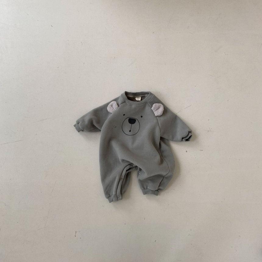 BEBE HOLIC - Korean Children Fashion - #Kfashion4kids - Bear Bodysuit - 10