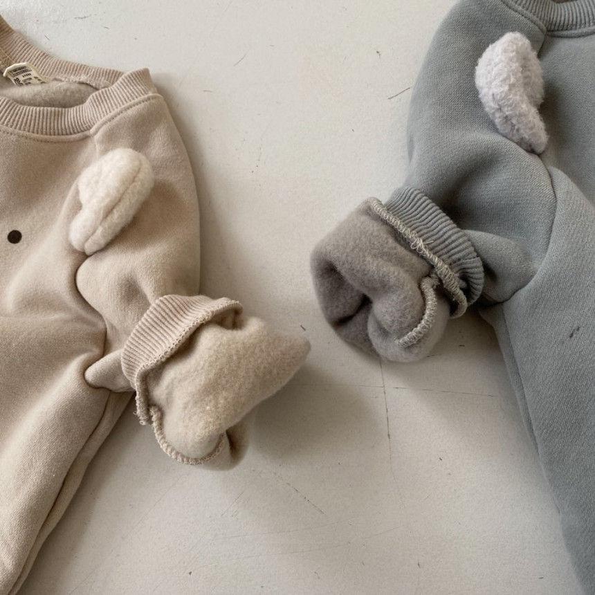 BEBE HOLIC - Korean Children Fashion - #Kfashion4kids - Bear Bodysuit - 11