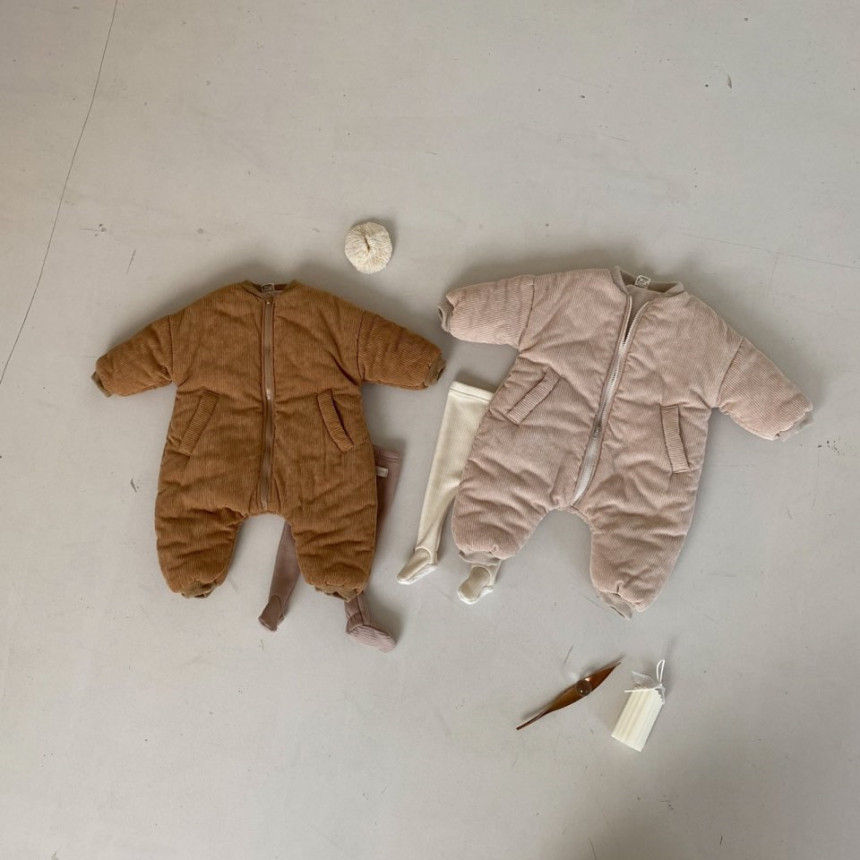 BEBE HOLIC - Korean Children Fashion - #Kfashion4kids - Doby Padding Outer Suit