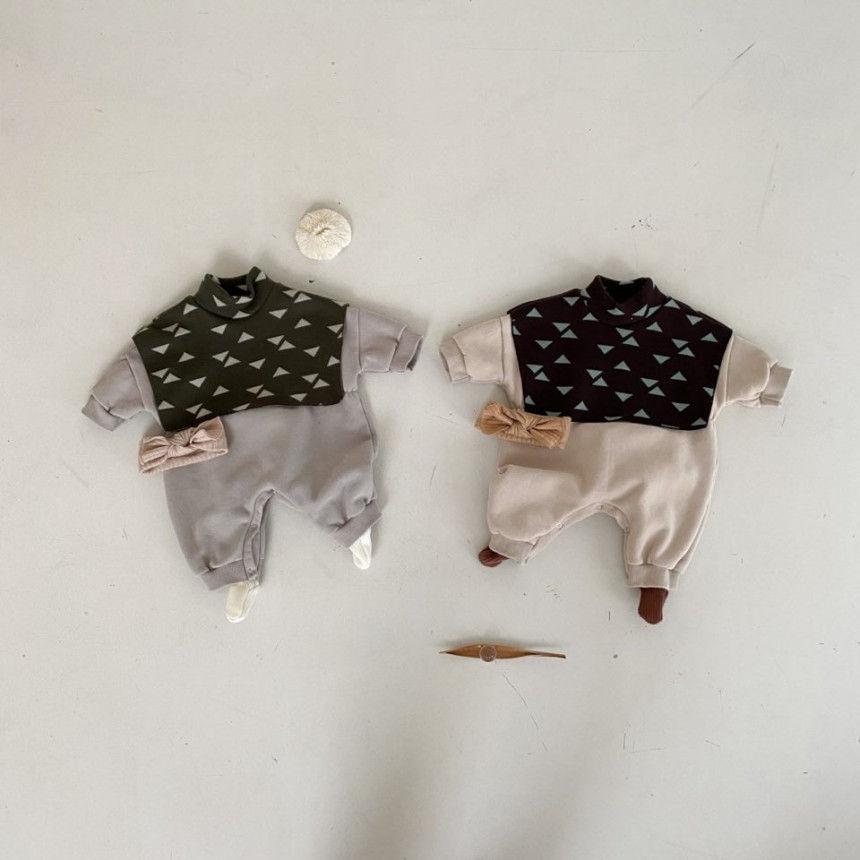 BEBE HOLIC - Korean Children Fashion - #Kfashion4kids - Cape Bodysuit