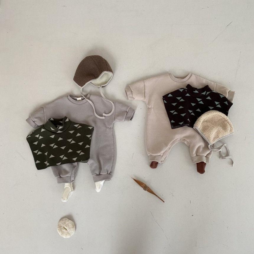 BEBE HOLIC - Korean Children Fashion - #Kfashion4kids - Cape Bodysuit - 2