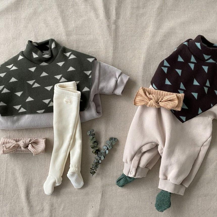 BEBE HOLIC - Korean Children Fashion - #Kfashion4kids - Cape Bodysuit - 4