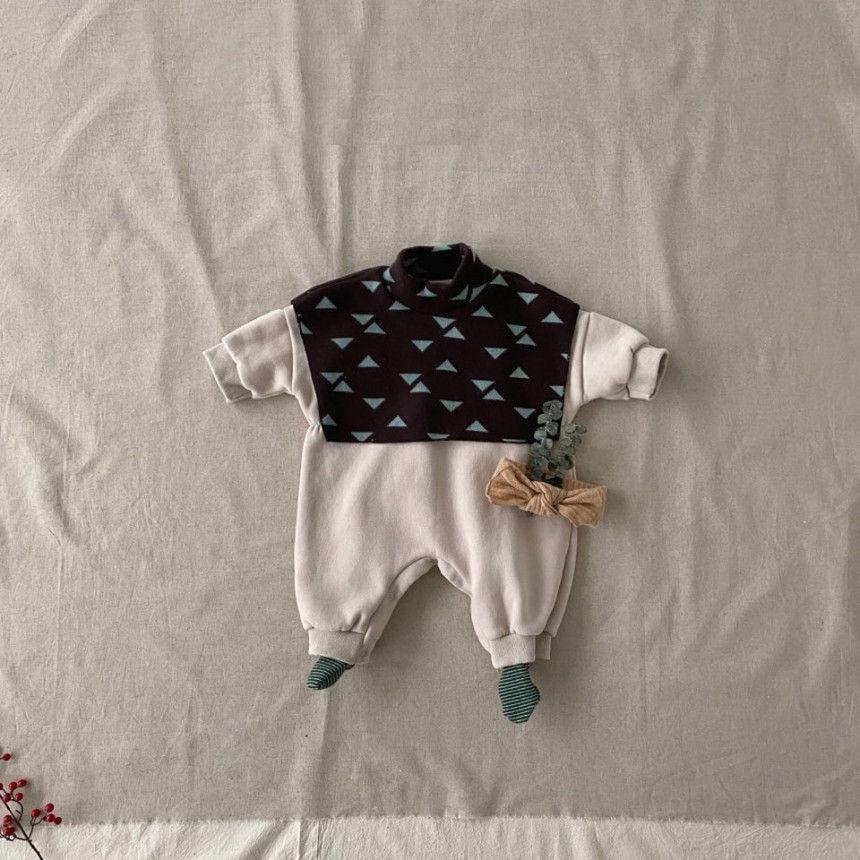 BEBE HOLIC - Korean Children Fashion - #Kfashion4kids - Cape Bodysuit - 5