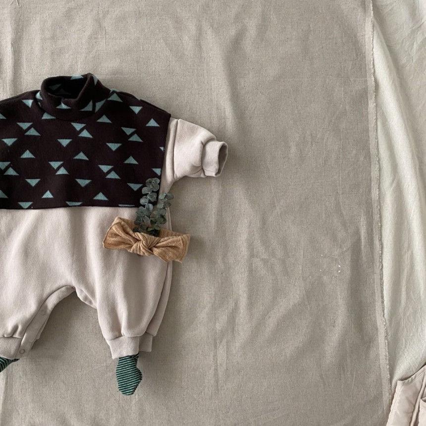 BEBE HOLIC - Korean Children Fashion - #Kfashion4kids - Cape Bodysuit - 6
