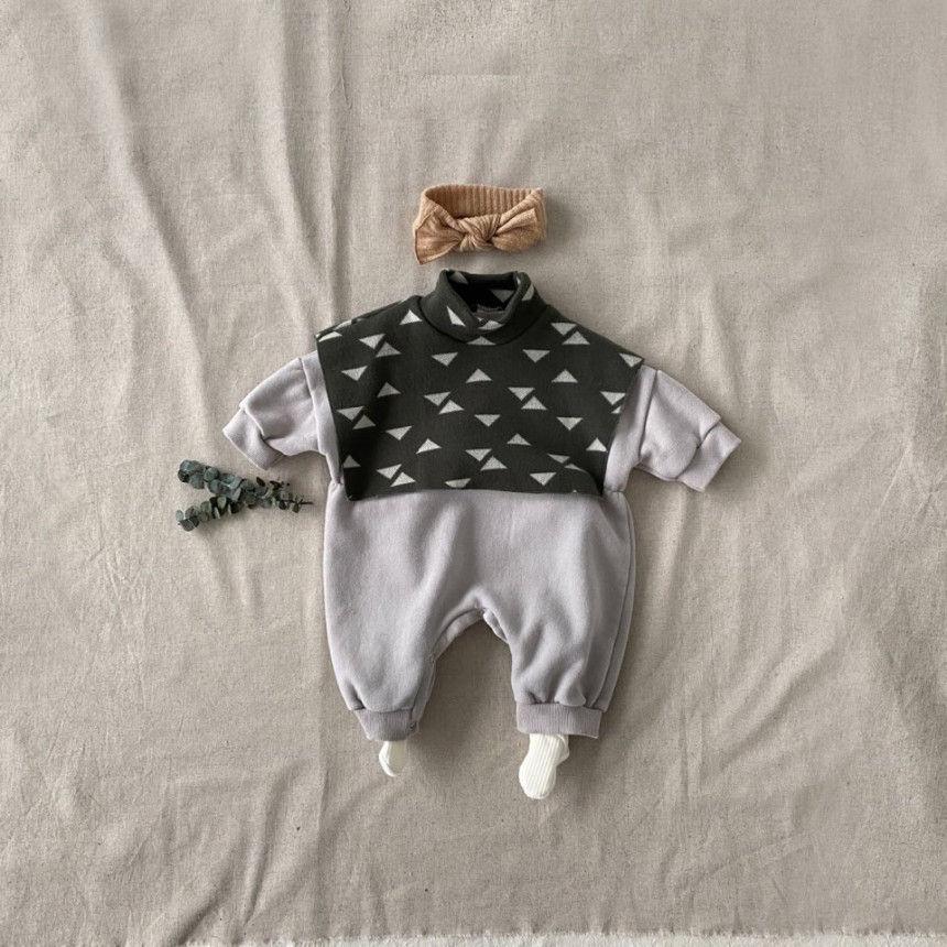 BEBE HOLIC - Korean Children Fashion - #Kfashion4kids - Cape Bodysuit - 7
