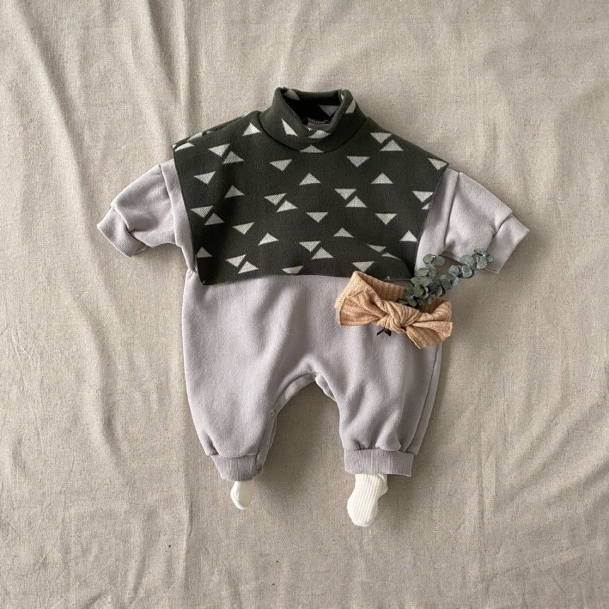 BEBE HOLIC - Korean Children Fashion - #Kfashion4kids - Cape Bodysuit - 8