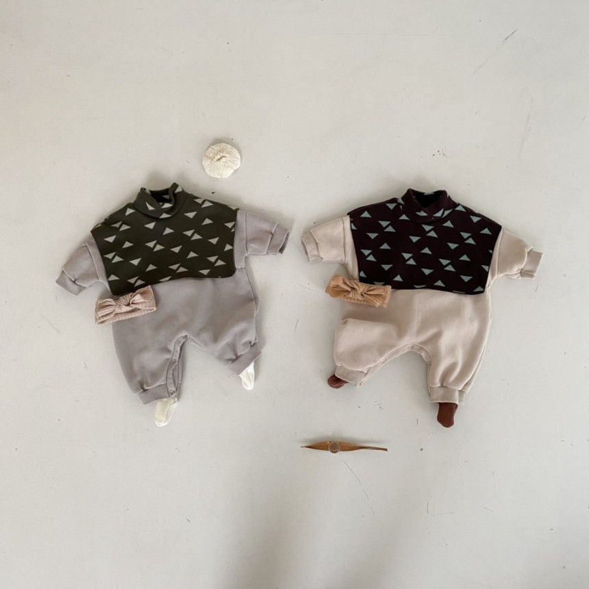 BEBE HOLIC - BRAND - Korean Children Fashion - #Kfashion4kids - Cape Bodysuit