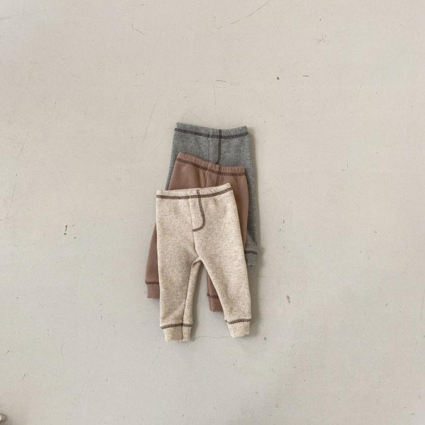 BEBE HOLIC - Korean Children Fashion - #Kfashion4kids - Kau Stitch Pants - 2