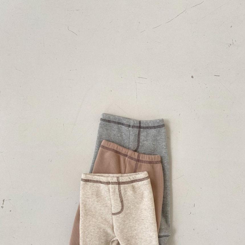 BEBE HOLIC - Korean Children Fashion - #Kfashion4kids - Kau Stitch Pants - 3