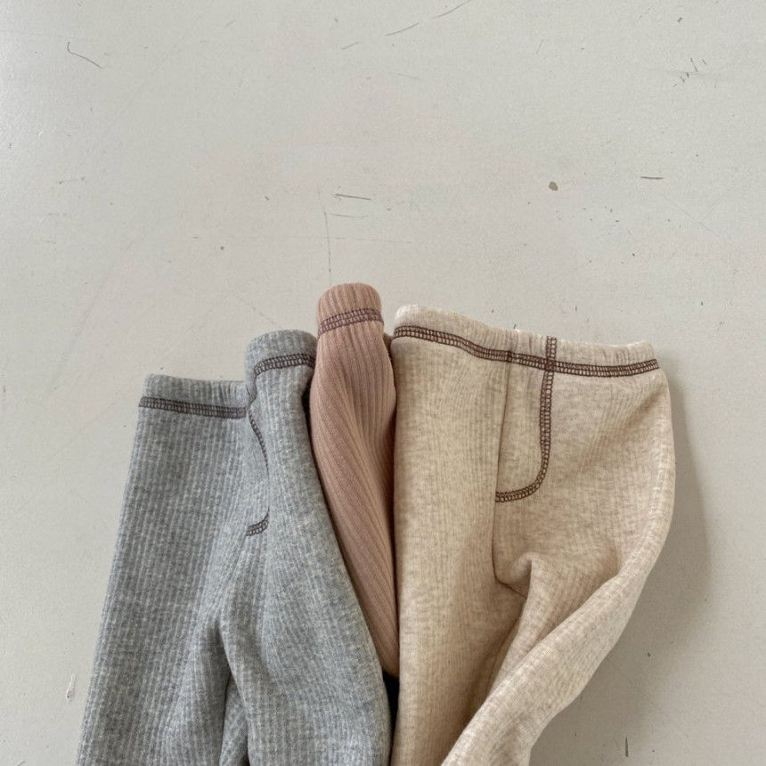 BEBE HOLIC - Korean Children Fashion - #Kfashion4kids - Kau Stitch Pants - 4