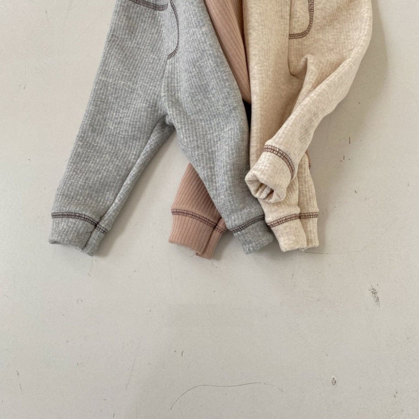 BEBE HOLIC - Korean Children Fashion - #Kfashion4kids - Kau Stitch Pants - 5