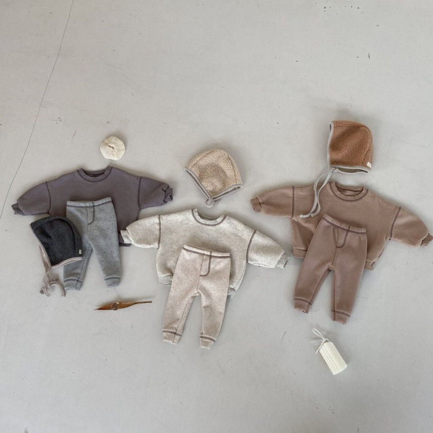 BEBE HOLIC - Korean Children Fashion - #Kfashion4kids - Kau Stitch Pants - 7