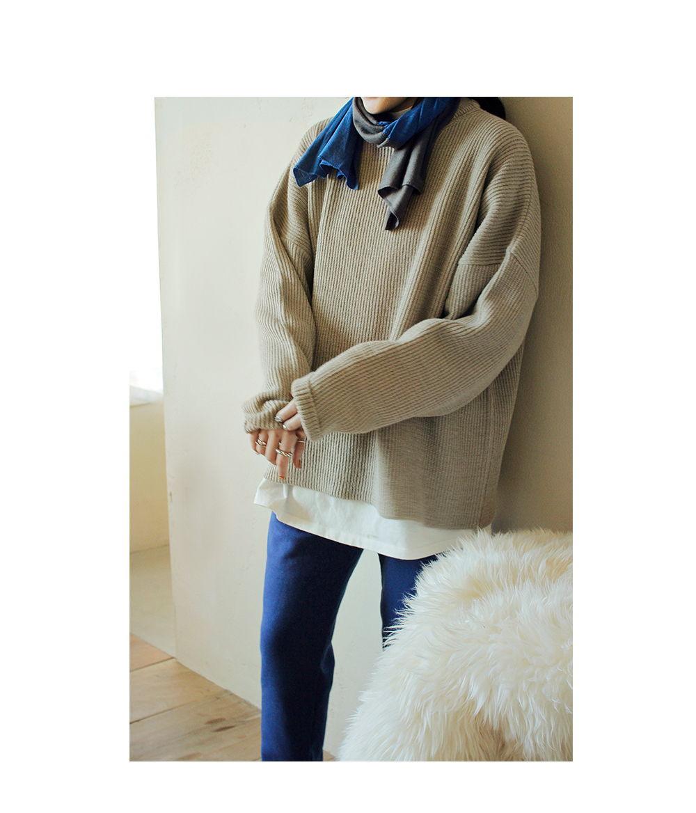 BIEN A BIEN - Korean Children Fashion - #Kfashion4kids - Adult Rona Knit Pullover