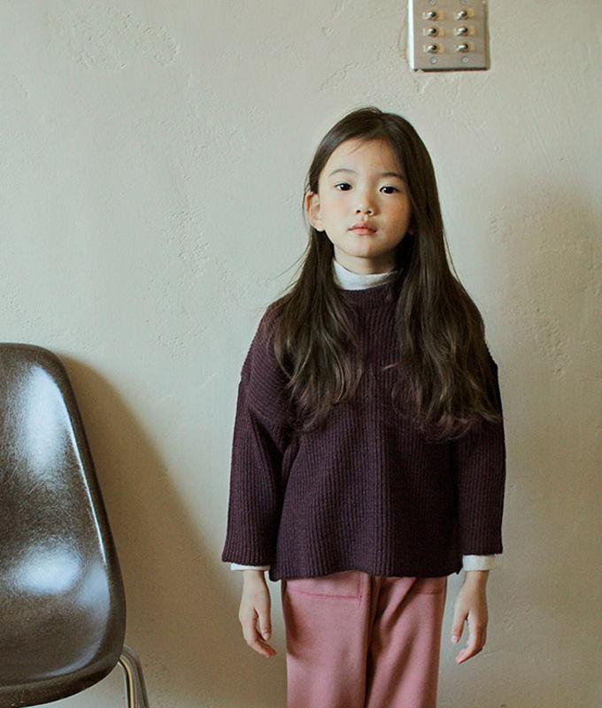 BIEN A BIEN - BRAND - Korean Children Fashion - #Kfashion4kids - Rona Knit Pullover