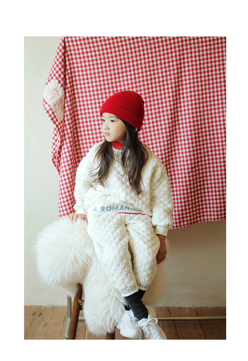 BIEN A BIEN - Korean Children Fashion - #Kfashion4kids - Beni Quilting Half Neck Sweatshirt