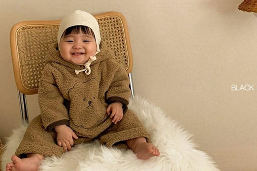 BLACK BEAN - BRAND - Korean Children Fashion - #Kfashion4kids - Bebe Vison Top Bottom Set