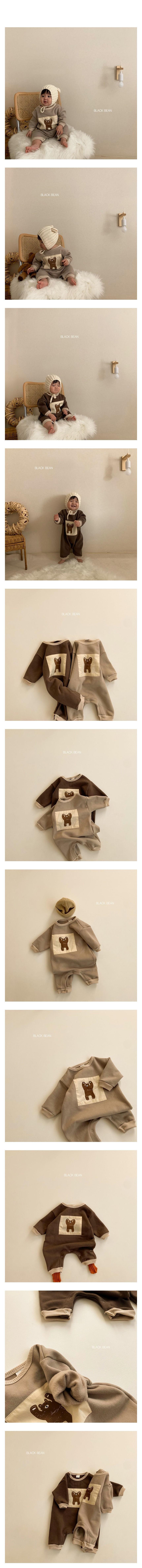 BLACK BEAN - Korean Children Fashion - #Kfashion4kids - Croiffle Bodysuit