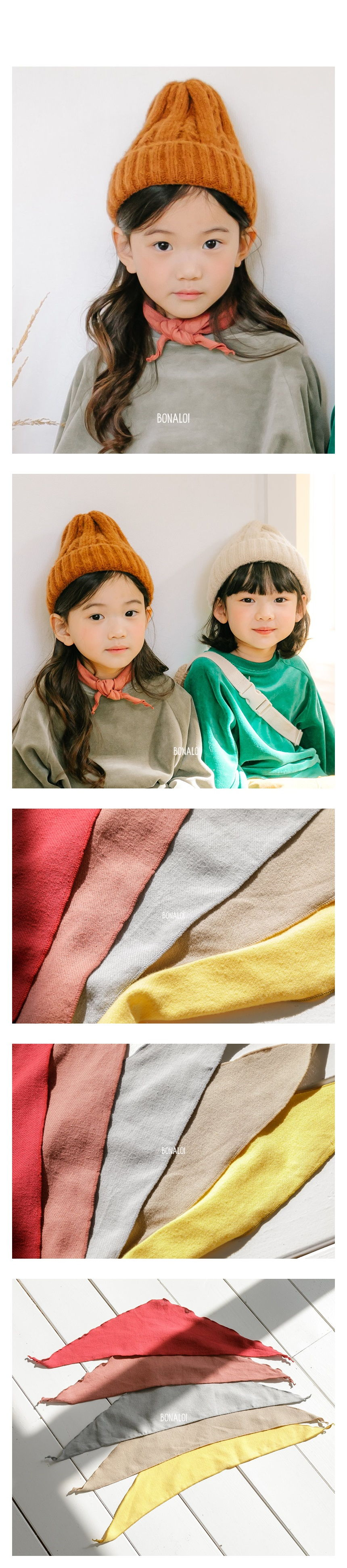 BONALOI - Korean Children Fashion - #Kfashion4kids - Color Petit Scarf
