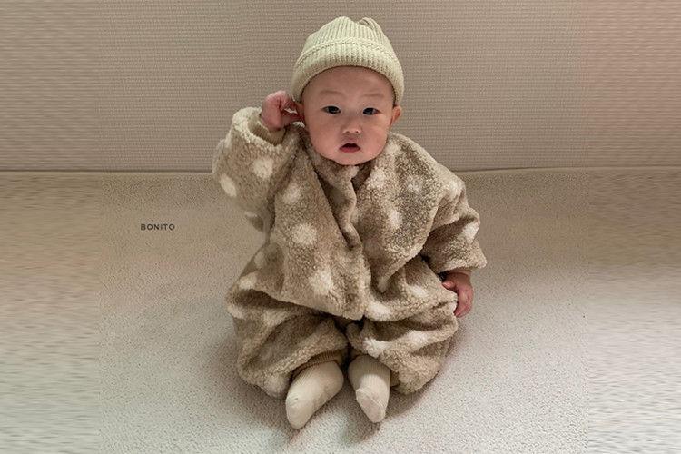 BONITO - BRAND - Korean Children Fashion - #Kfashion4kids - Dot Overalls