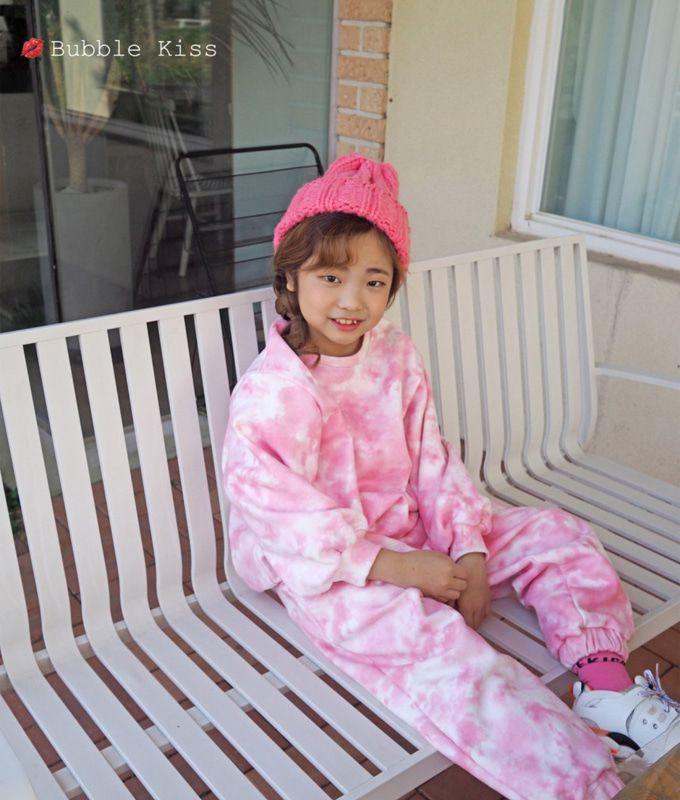BUBBLE KISS - BRAND - Korean Children Fashion - #Kfashion4kids - Pigment Sweatshirt
