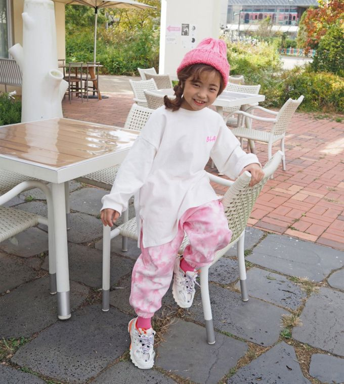 BUBBLE KISS - BRAND - Korean Children Fashion - #Kfashion4kids - Pigment Training Pants