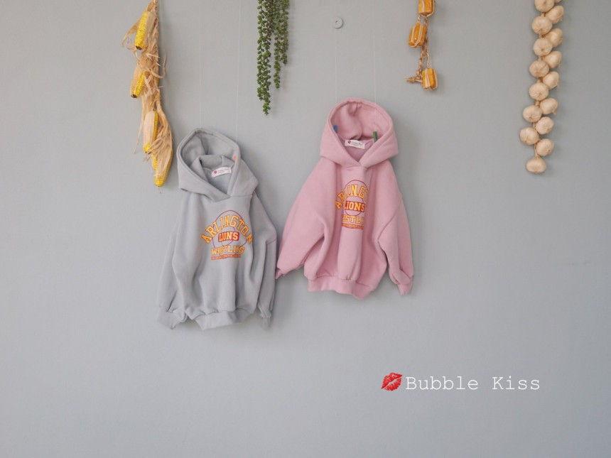 BUBBLE KISS - Korean Children Fashion - #Kfashion4kids - Lions Fleece Hoody