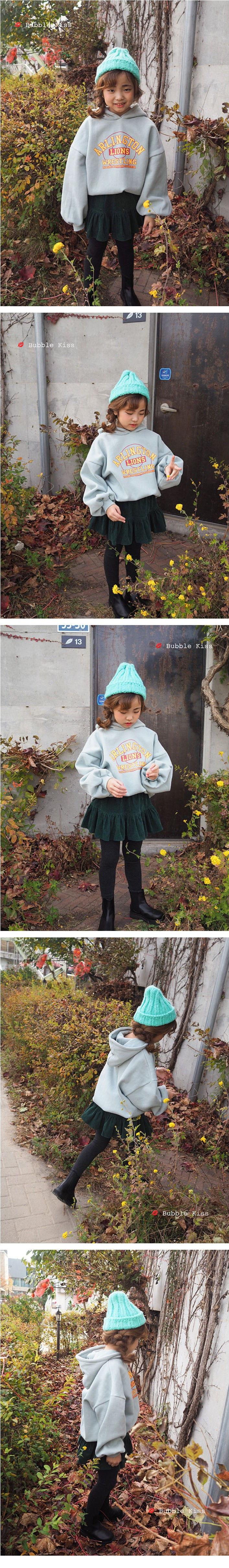 BUBBLE KISS - Korean Children Fashion - #Kfashion4kids - Lions Fleece Hoody - 3