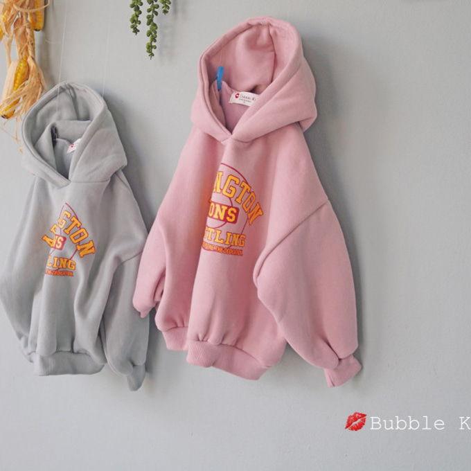 BUBBLE KISS - BRAND - Korean Children Fashion - #Kfashion4kids - Lions Fleece Hoody
