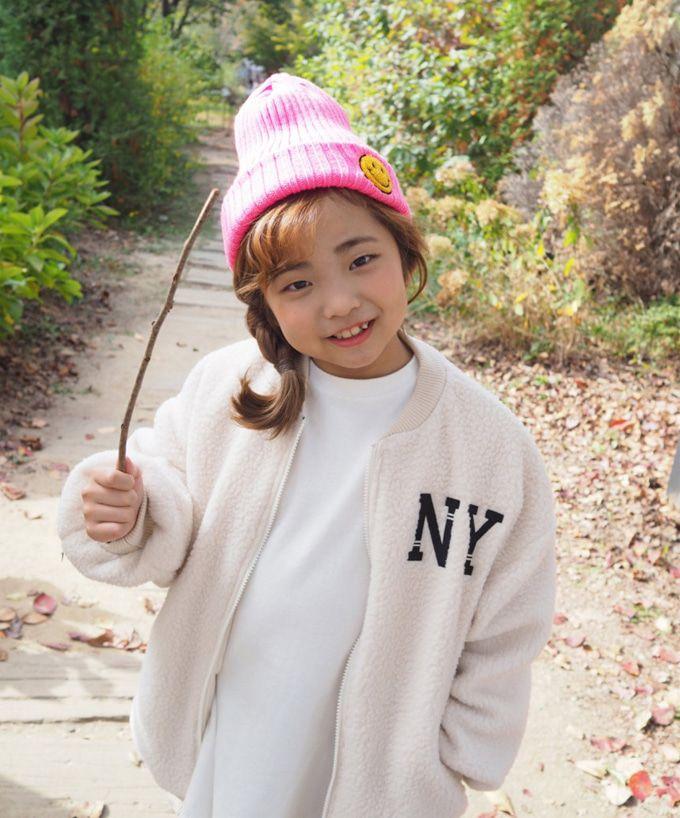 BUBBLE KISS - BRAND - Korean Children Fashion - #Kfashion4kids - NY Fleece Jumper