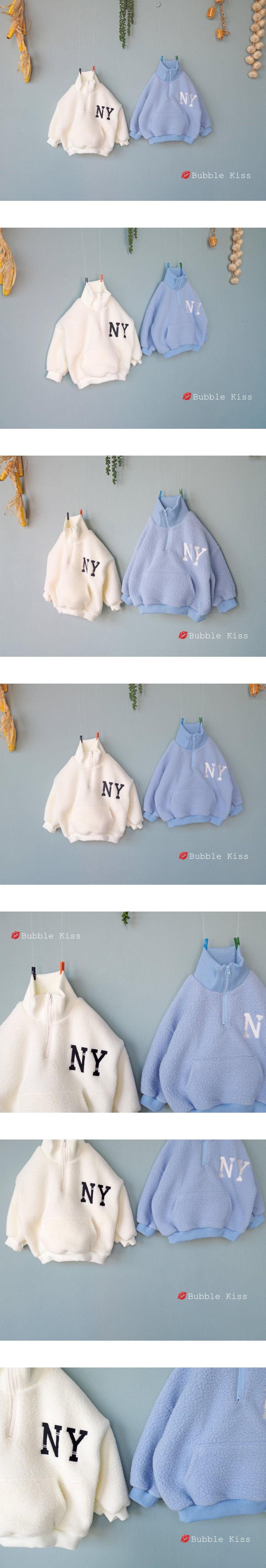 BUBBLE KISS - Korean Children Fashion - #Kfashion4kids - NY Dumble Pullover - 4