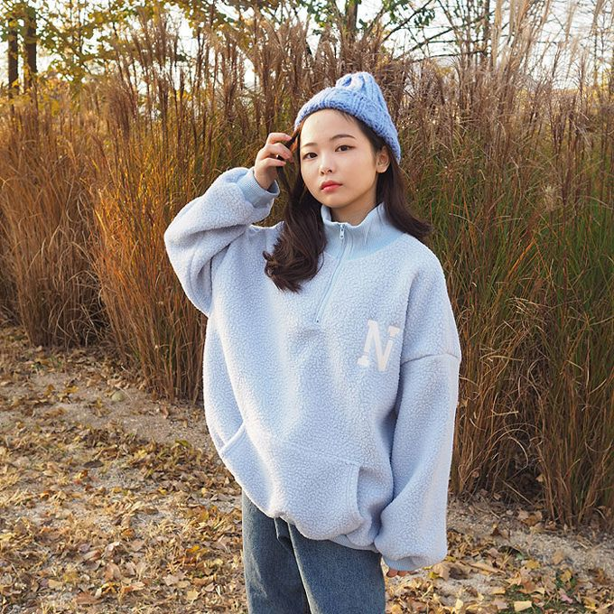 BUBBLE KISS - BRAND - Korean Children Fashion - #Kfashion4kids - NY Dumble Pullover