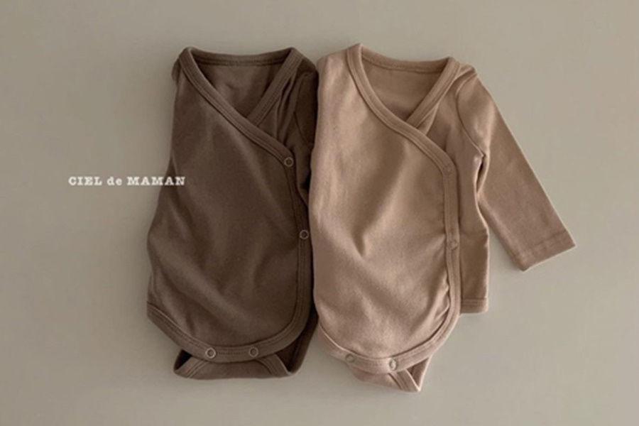 CIEL DE MAMAN - BRAND - Korean Children Fashion - #Kfashion4kids - High Bennet Bodysuit with Bonnet & Handcover
