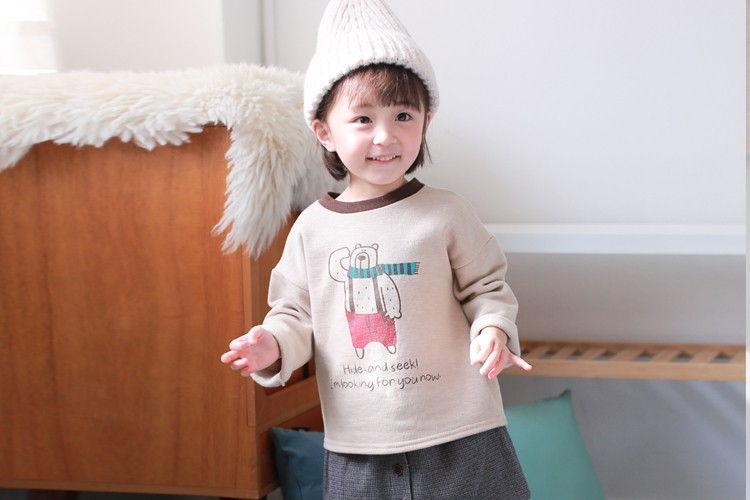 COCO RABBIT - BRAND - Korean Children Fashion - #Kfashion4kids - Bear Tee
