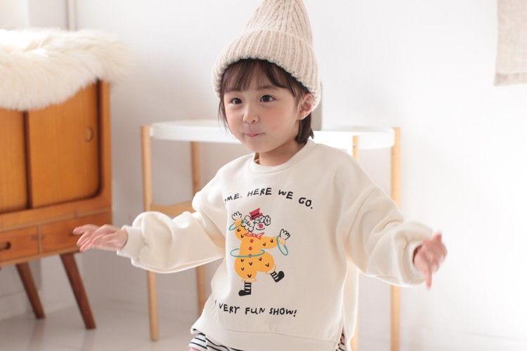 COCO RABBIT - BRAND - Korean Children Fashion - #Kfashion4kids - Pierrot Sweatshirt