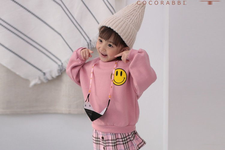 COCO RABBIT - BRAND - Korean Children Fashion - #Kfashion4kids - Mask Hook Sweatshirt