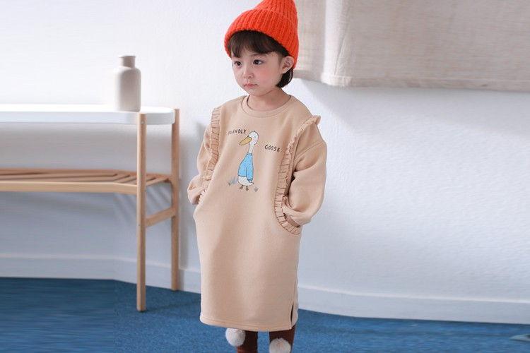 COCO RABBIT - BRAND - Korean Children Fashion - #Kfashion4kids - Duck Frill One-piece