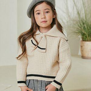 COCO RIBBON - BRAND - Korean Children Fashion - #Kfashion4kids - Sailor Knit Pullover