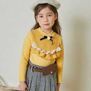 COCO RIBBON - BRAND - Korean Children Fashion - #Kfashion4kids - Rib Colored Tee