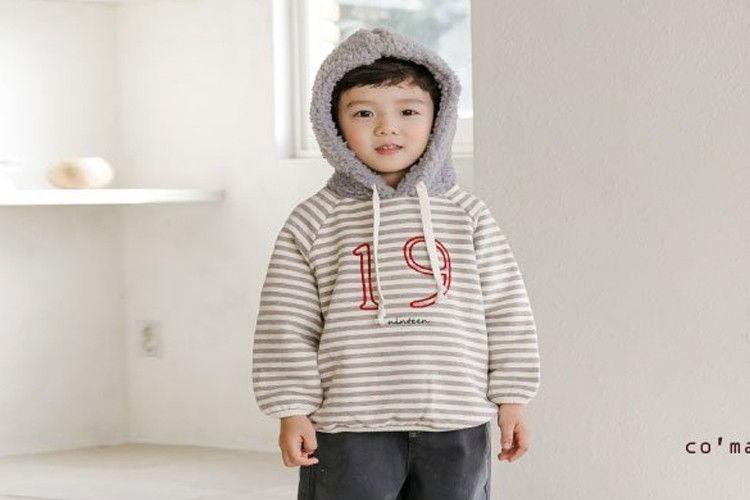 COMMENCER - BRAND - Korean Children Fashion - #Kfashion4kids - 19 Hood Sweatshirt