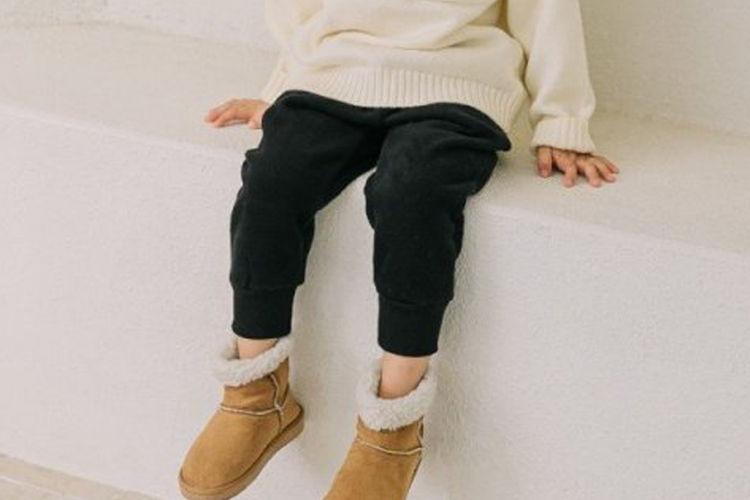 COMMENCER - BRAND - Korean Children Fashion - #Kfashion4kids - Fleece Jogger Pants
