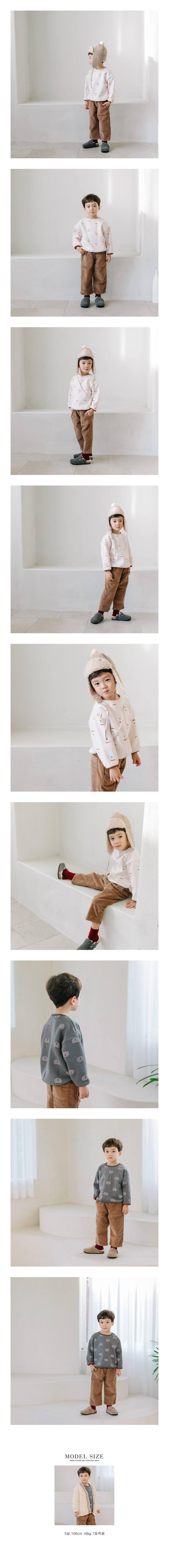 COMMENCER - Korean Children Fashion - #Kfashion4kids - Hat Print Tee