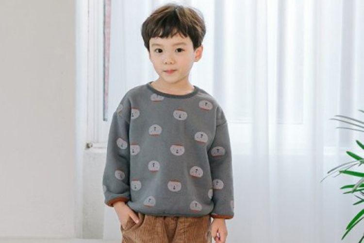 COMMENCER - BRAND - Korean Children Fashion - #Kfashion4kids - Hat Print Tee