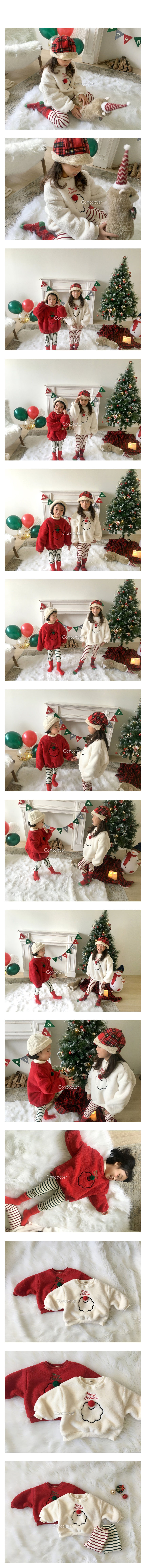 CONCOCTER - Korean Children Fashion - #Kfashion4kids - Santa Boa Pullover