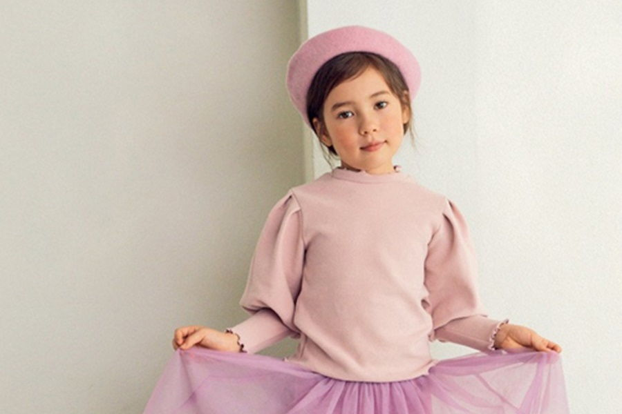 E.RU - BRAND - Korean Children Fashion - #Kfashion4kids - Puff Tee