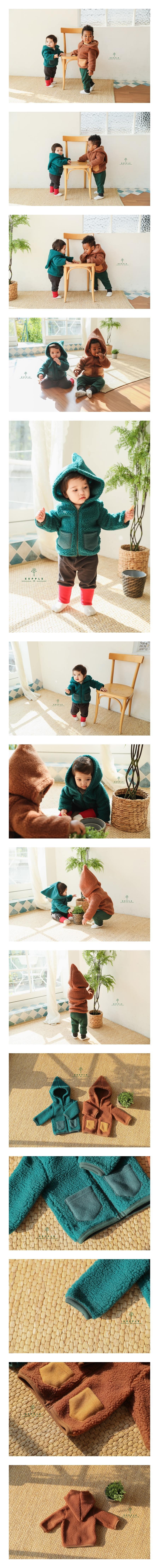 EEPPLE - Korean Children Fashion - #Kfashion4kids - Hoody Jumper