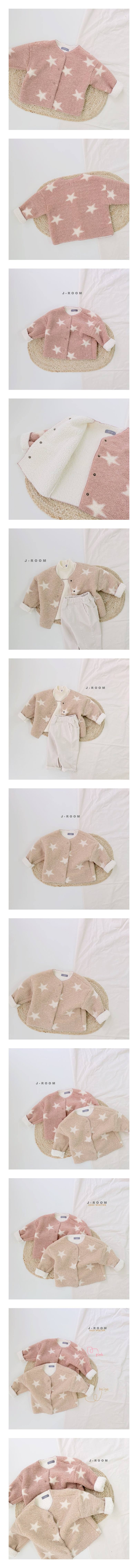 J-ROOM - Korean Children Fashion - #Kfashion4kids - Star Dumble Jacket