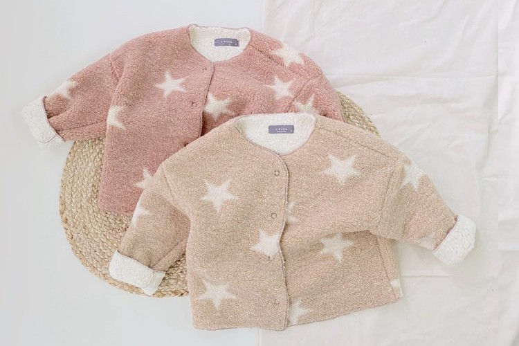 J-ROOM - BRAND - Korean Children Fashion - #Kfashion4kids - Star Dumble Jacket