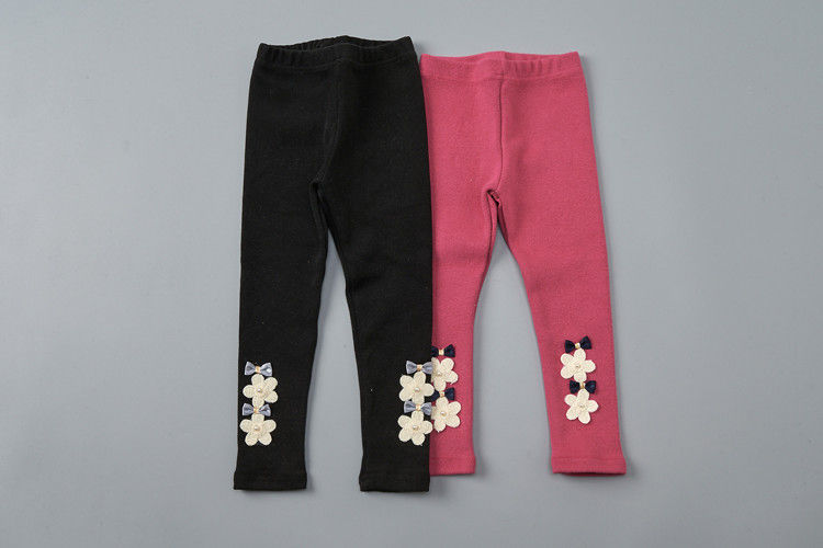JAM - BRAND - Korean Children Fashion - #Kfashion4kids - Flower Leggings