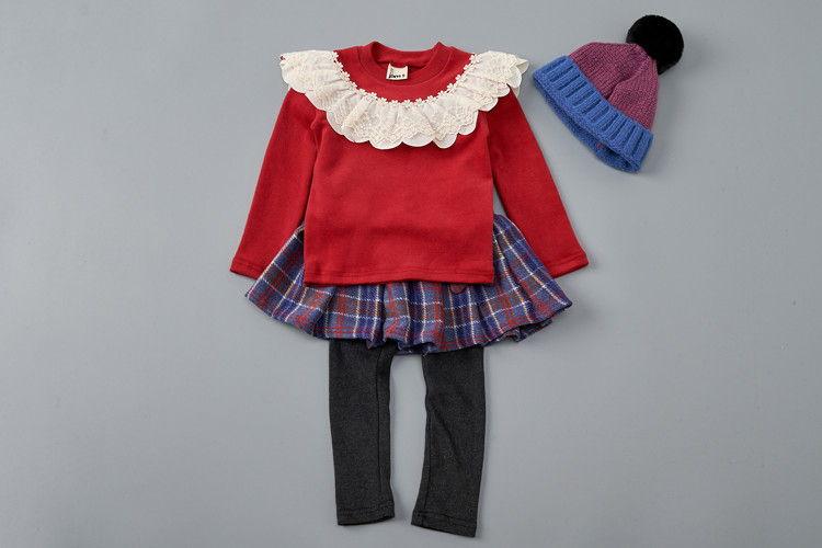 JAM - BRAND - Korean Children Fashion - #Kfashion4kids - Lace Ribbon Tee